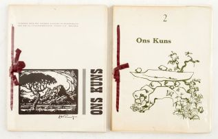 Various Authors; Ons Kuns, Volume 1 & 2
