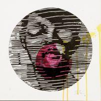 Zolani Siphungela; Portrait with Closed Eyes