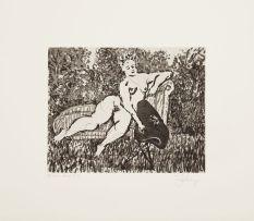 William Kentridge; Chaise- Longue