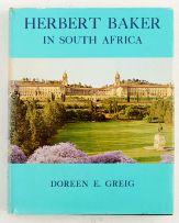 Greig, Doreen E.; Herbert Baker in South Africa