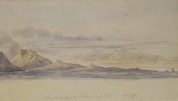 Thomas Bowler; Southern Point, Cape of Good Hope, April 1849