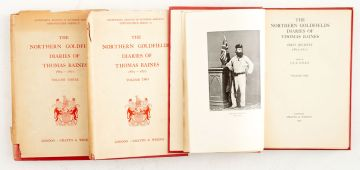 Wallis, J.P.R. (ed.); The Northern Goldfields Diaries of Thomas Baines, Volumes I, II and III