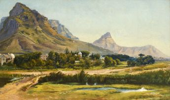 Charles Rolando; Landscape with Black River and Lion's Head