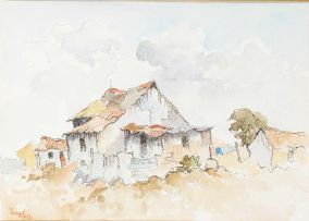 Conrad Theys; Labourers' Cottages, Cape