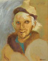 Marjorie Wallace; Self Portrait