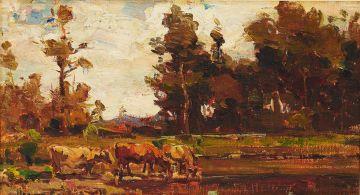 Adriaan Boshoff; Watering the Cattle