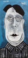 Paul Johan du Toit; Portrait of a Man with Spectacles