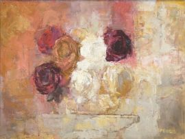Frank Spears; Still Life of Roses