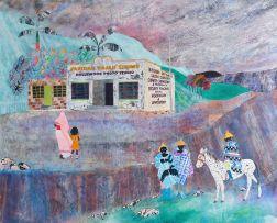 Catherine Paynter; Faridah Rajah Stores - Basutu Landscape