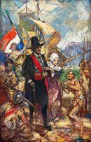 John Henry Amshewitz; The Landing of Jan van Riebeeck
