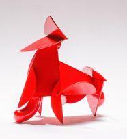 Edoardo Villa; Abstract Composition, Red
