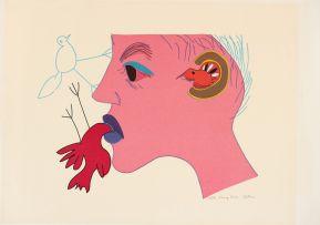 Walter Battiss; Moving Birds