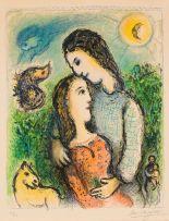 Marc Chagall; Les Adolescents (Mourlot 741)