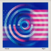 Yaacov Agam; USA Double Rainbow