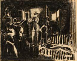 Stanley Pinker; The Artist's Studio