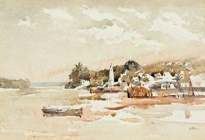 Walter Battiss; Shela, Lamu Island, East Coast of Africa