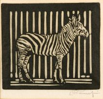 Jacob Hendrik Pierneef; Zebra (Nilant 150)