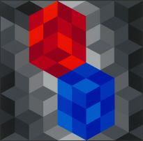 Victor Vasarely; Composition Cinétique