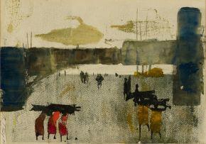 Christine von Huetz-Davisson; The Wood Carriers II