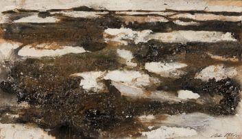 Christine von Huetz-Davisson; Abstract Landscape