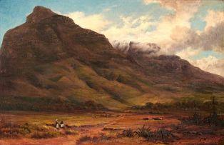 Charles Rolando; View of Devil's Peak