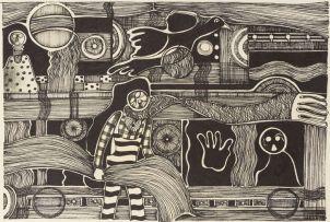 Dan Rakgoathe; Figures and Birds