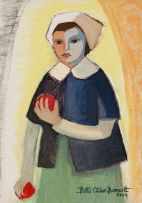 Bettie Cilliers-Barnard; Girl with Pomegranates