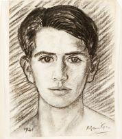 Johannes Meintjes; Self Portrait