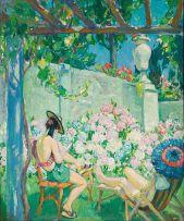 Alfred Palmer; Sunbathers, Lugano