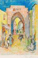 Ernest Ullmann; Street Scene