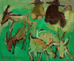 Frans Claerhout; Goat Herders