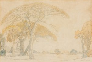 Jacob Hendrik Pierneef; Bushveld Trees