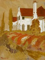 Jacob Hendrik Pierneef; Government House, Pretoria