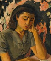 Maud Sumner; Portrait of Mrs GD Fleiszer