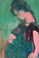 Jean Welz; Portrait of a Pregnant Woman