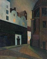 Ruth Everard Haden; Behind St-Sulpice, Paris