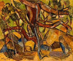 Paul du Toit; Wooded Landscape