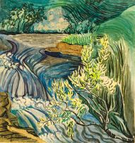 Edith King; Flowing Stream