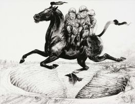 Diane Victor; Migrant Labour (Flying Horse)