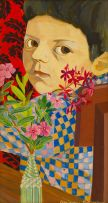 Marianne Podlashuc; Portrait of Boy