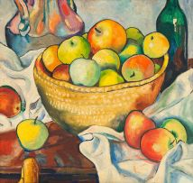 Eugene Labuschagne; Still Life with Apples