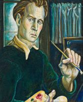 Eugene Labuschagne; Self Portrait