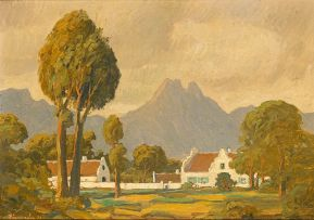 Jacob Hendrik Pierneef; Cape Dutch House