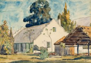 Jacob Hendrik Pierneef; Cape Dutch House