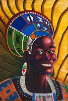 Trevor Makhoba; Portrait of a Woman