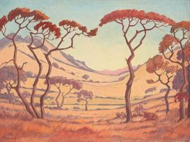 Jacob Hendrik Pierneef; Winter Bosveld