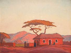 Jacob Hendrik Pierneef; Die Bosveld Huisie