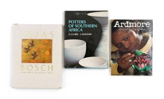 Clark, G. and Wagner, L.; Scott, Gillian & Bosch, Andree and de Waal, Johann; Potters of South Africa; Ardmore, An African Discovery & Esias Bosch
