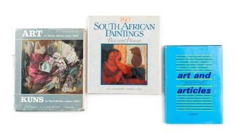 Harmsen, Frieda (editor); Alexander, Lucy and Cohen, Evelyn & Alexander, F. L.; Art and Articles; 150 South African Paintings. Past and Present & Art in South Africa since 1900