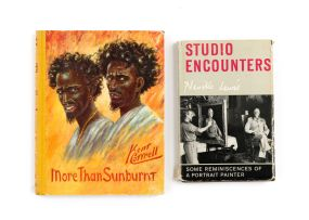 Lewis, Neville & Cottrel, Kent; Studio Encounters. Some Reminiscences of A Portrait Painter & More than Sunburnt. Africa-Mostly above the Equator: sequel to Sunbird sketches of Africa-Mostly below the Equator